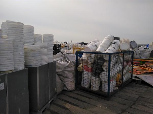 odpady tworzyw sztucznych